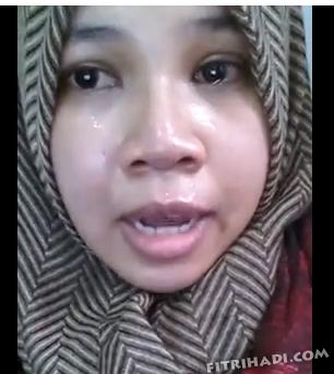 Video Gadis Menangis Di Youtube Kerana Ali Rustam Kalah