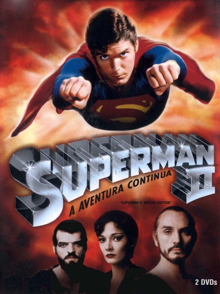 Superman II: A Aventura Continua Torrent - Blu-ray Rip 720p Dual Áudio (1980)