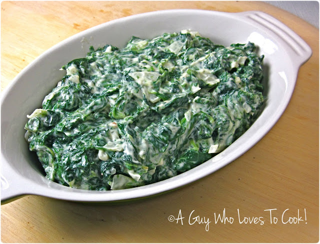 Guy Who Loves to Cook!: Steakhouse Creamed Spinach