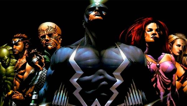 Los Inhumanos de Marvel Comics