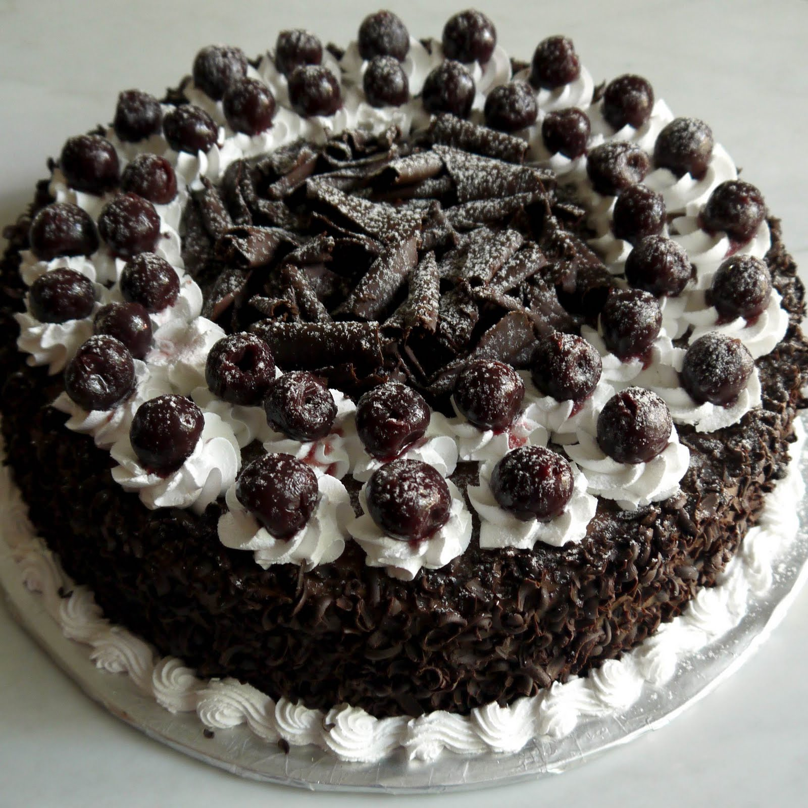 Sweet Indulgence Kuching: Black Forest Cake