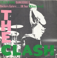 Portada del single UK Tour de The Clash (1980)
