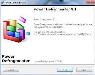 Download Power Defragmenter 3.1