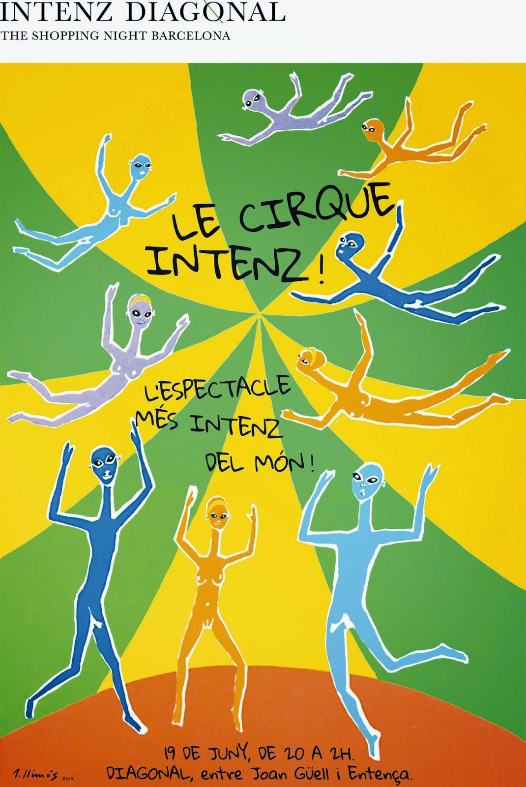 Cartel oficial Intenz Diagonal by TSNB