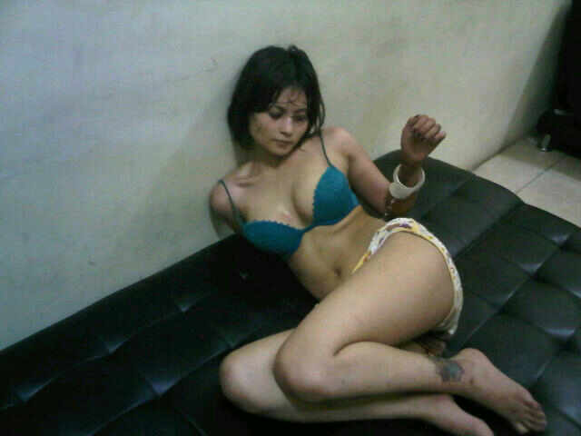 It's an actual shot of the police station scene where Indonesian Model Novie ...