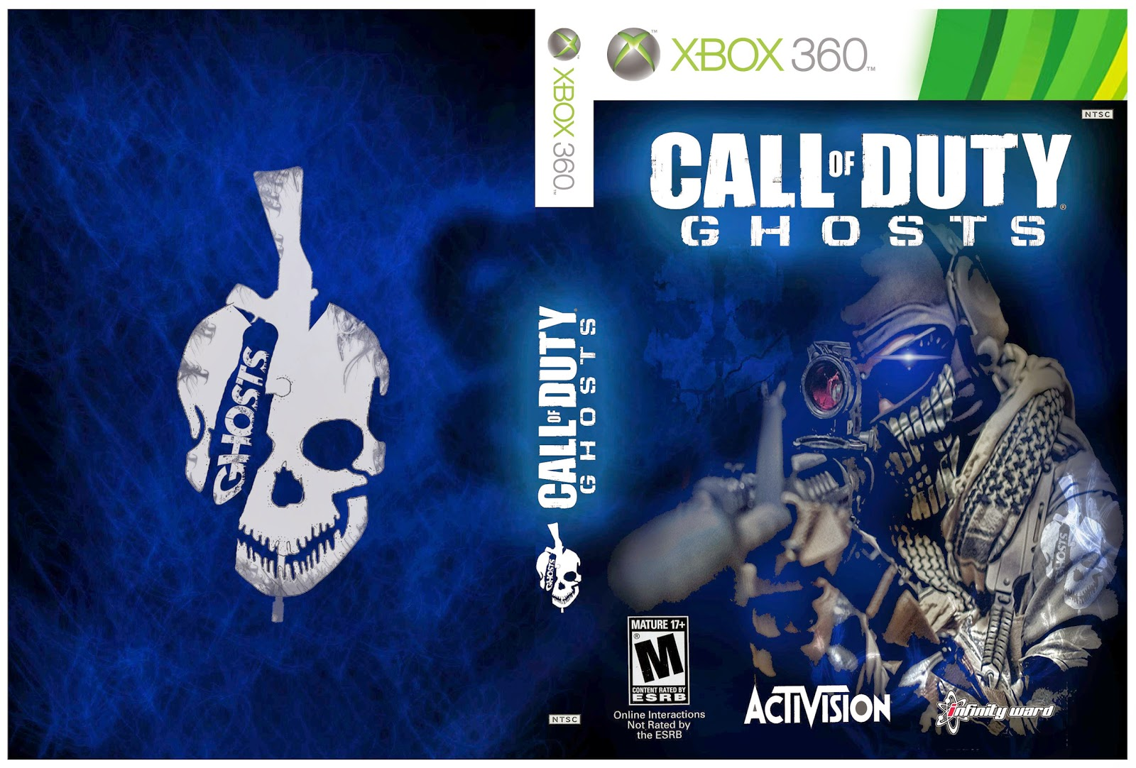 Capa Call Of Duty Ghosts Xbox 360