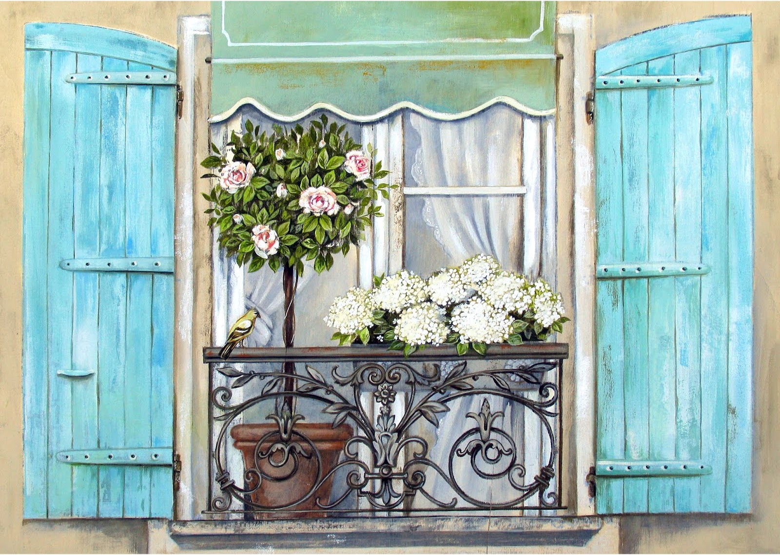 4 фото 1 слово ставни ваза цветы
