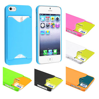 Grab A Credit Id Card Holder Case For Iphone 5 Just 99 Cents It Also Includes Free Shipping From Ebayhurry If You Want This Wont Stick Around