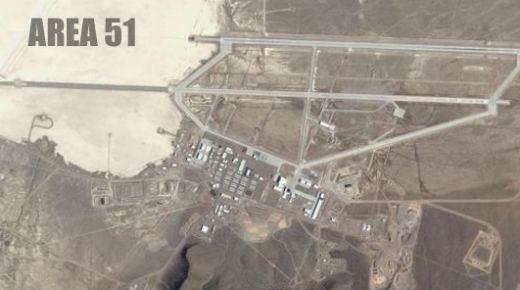 Construyen una enorme pirámide alienígena en el Area 51