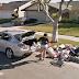 Otro momento peculiar captó Google Street View