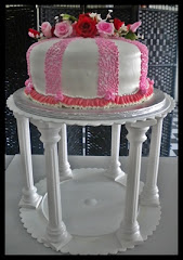Wedding cake 10/stand cake  4 rental