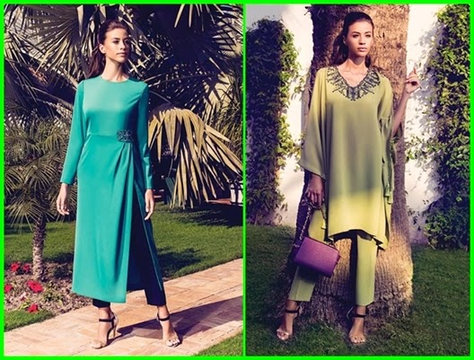 Kayra 2015  İlkbahar Yaz renkli elbise modelleri