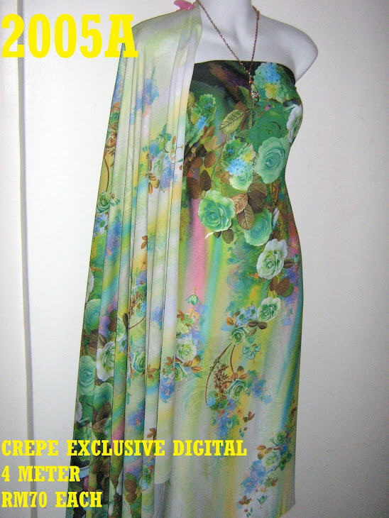 CP 2005A: CREPE EXCLUSIVE DIGITAL PRINTED, 4 METER