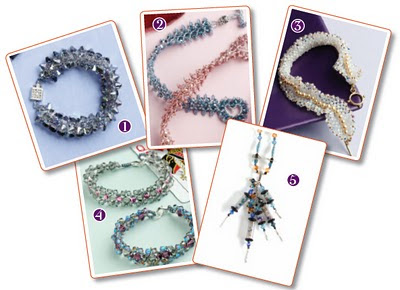 Around The Beading Table: Free Twin bead patterns