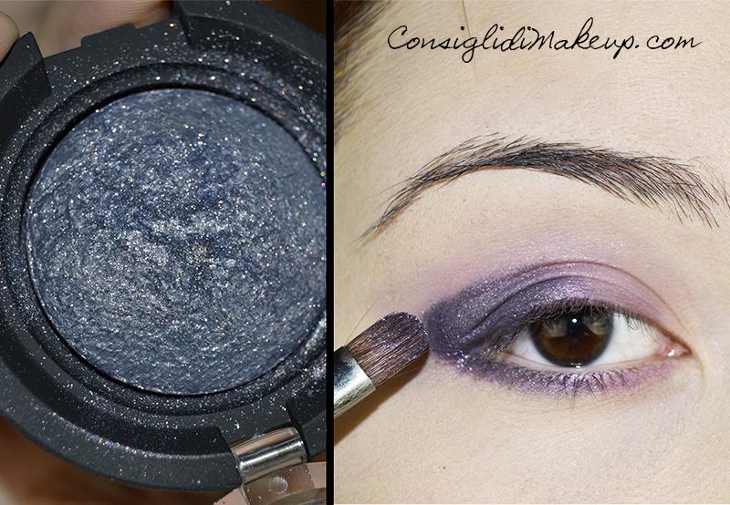 Tutorial trucco occhi viola e lilla