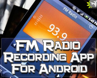 FM Radio Recorder app for android phones