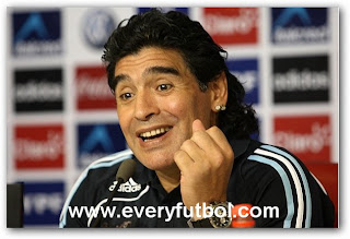 Maradona El Nuevo Tecnico De Ucrania
