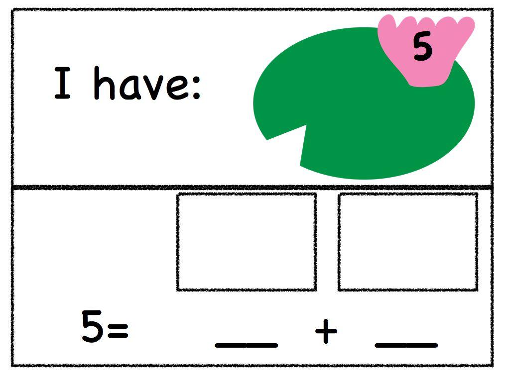 decomposing numbers kindergarten worksheets – Decomposing Numbers Kindergarten Worksheets