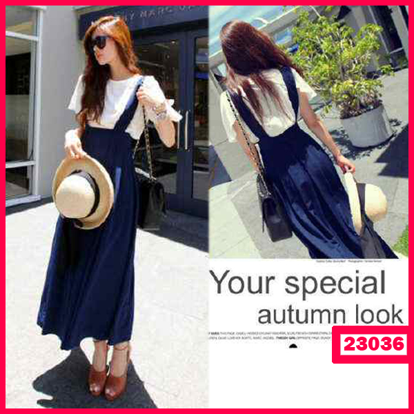 Busana: Dress Wanita Autumn+Inner (BBB-058)
