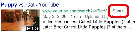 Google inlocuieste butonul 1 cu link-ul Share
