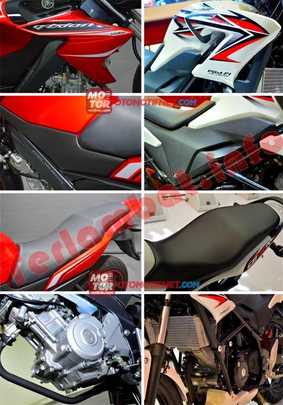 Mesin Honda Cb150r dan New Vixion 2013