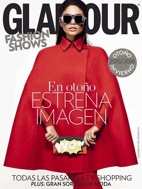 Fashion Model @ Vika Bronova - Glamour Spain, September 2015