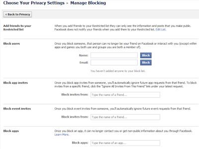 facebookプライバシー設定 ブロック設定:ESETセキュリティブログ