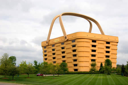 The Basket Building, Ohio, USA
