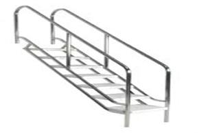 escaleras de piscinas horizontales