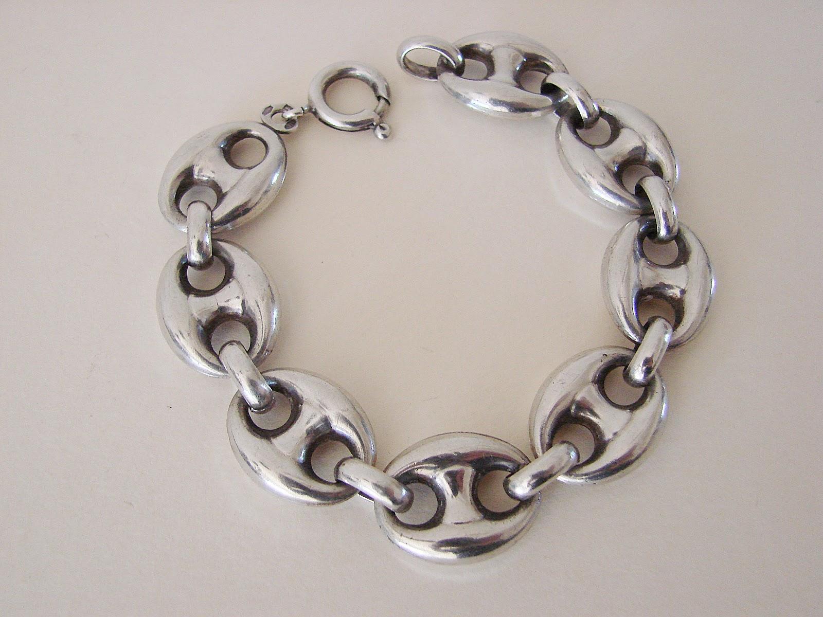 bracciale argento vintage