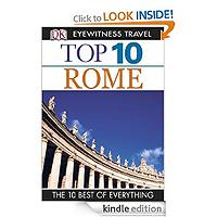 Eyewitness Top 10 Travel Guide Rome by Reid Bramblett £2.99