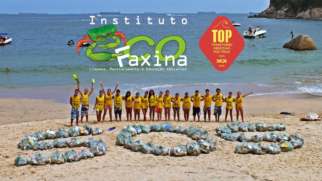 Instituto EcoFaxina e Skol se unem no projeto TOP - Transtorno Obsessivo por Praia