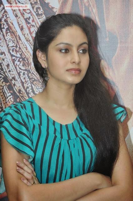 Piravi Actress Abinaya Stills at Movie Press Meet