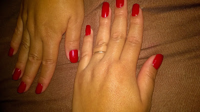 Coloroma Tapete Vermelho e Risque LOVE
