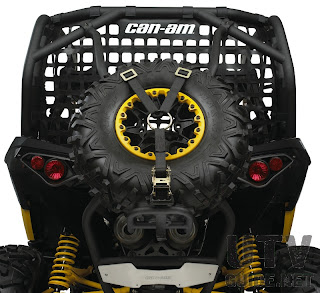 Can-Am Maverick Baja Style Spare Tire Holder