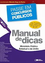 Manual de Dicas - MP Estadual e União