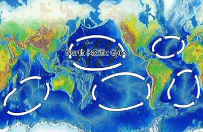 mapa mostrando o Giro do Pacífico Norte