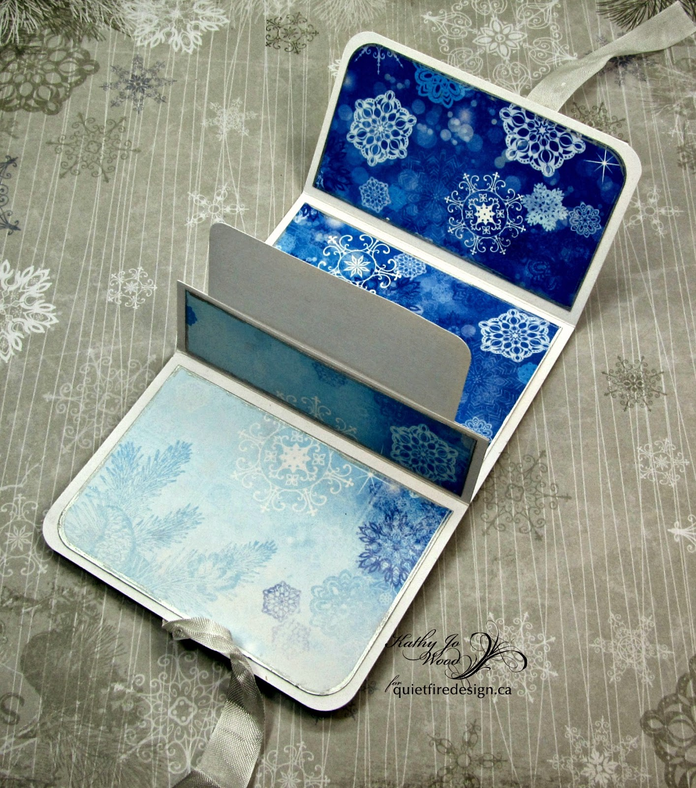 yes i made another wallet gift card holder it is such a fun project and it is nice to get the gift card holders done ahead of time for christmas