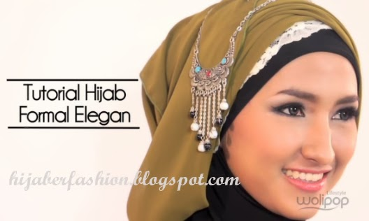 Tutorial Hijab Paris Untuk Acara Formal