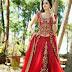 Aishwarya Designer Studio Wedding-Bridal Wear New Fashion Fancy Lehangaa-Cholli Suits 2015
