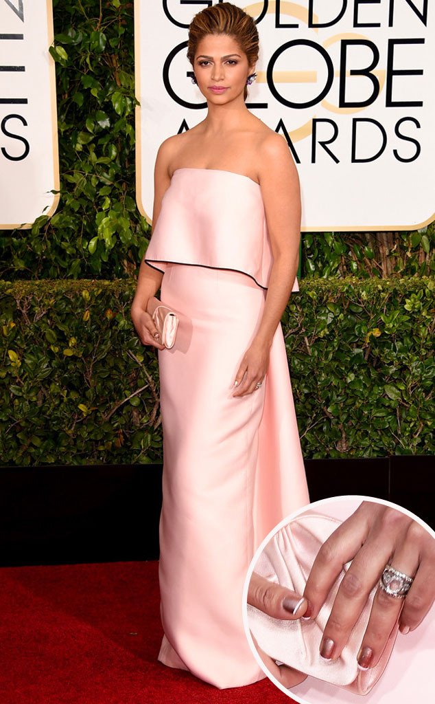 Camila Alves Golden Globes