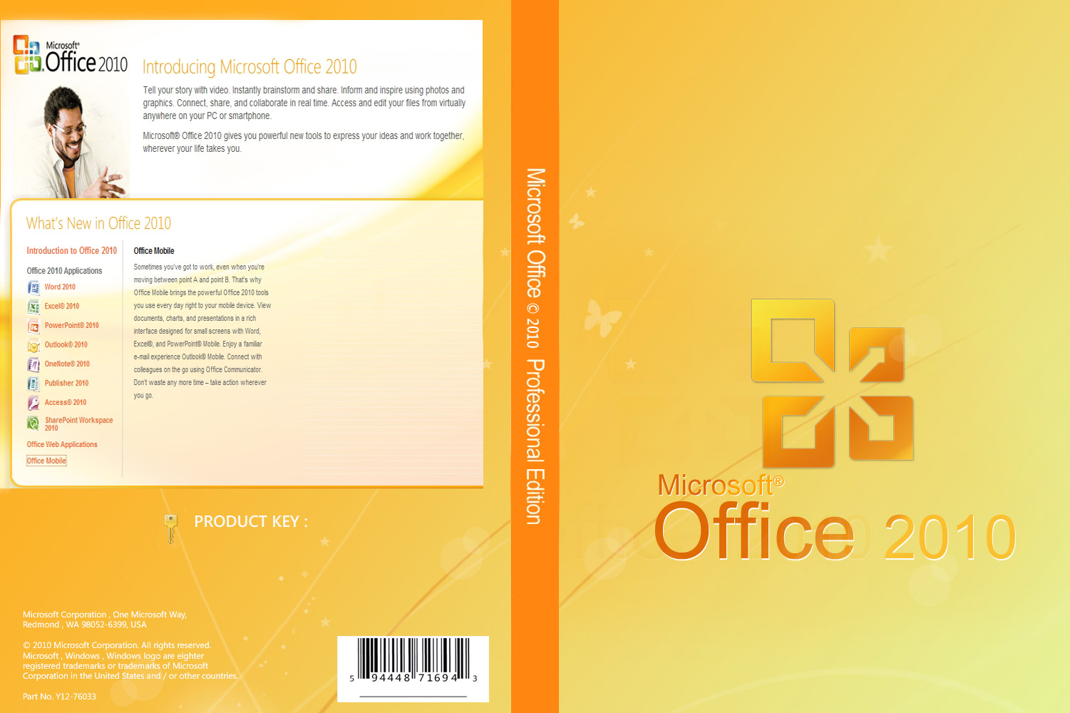 how to put page 1 of 3 in office 2010