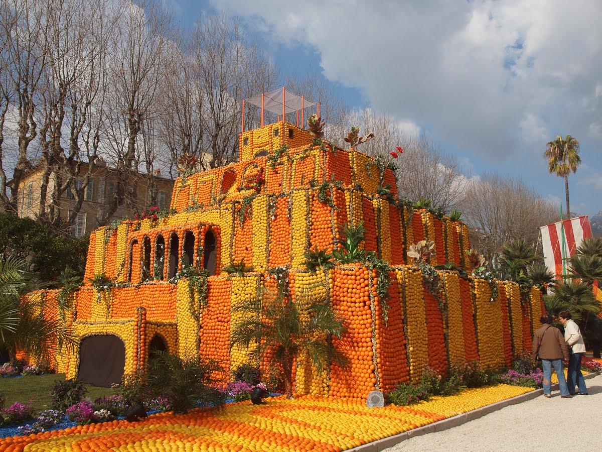 ALL MESOPOTAMIA — A fruity Hanging Gardens of Babylon