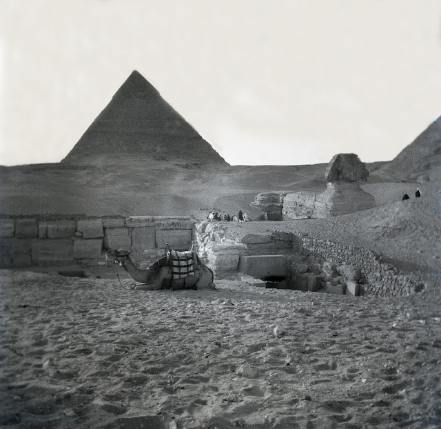 Pyramids and Sphinx of Egypt