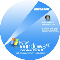 Windows XP service pack 3 iso image Download
