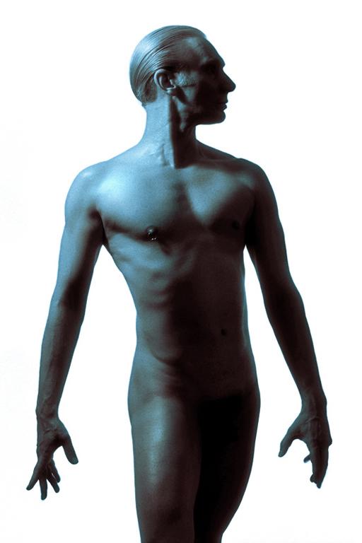 John Dobson self-portrait body shot