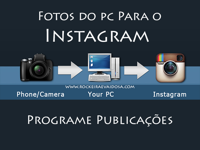 programe fotos do intagram