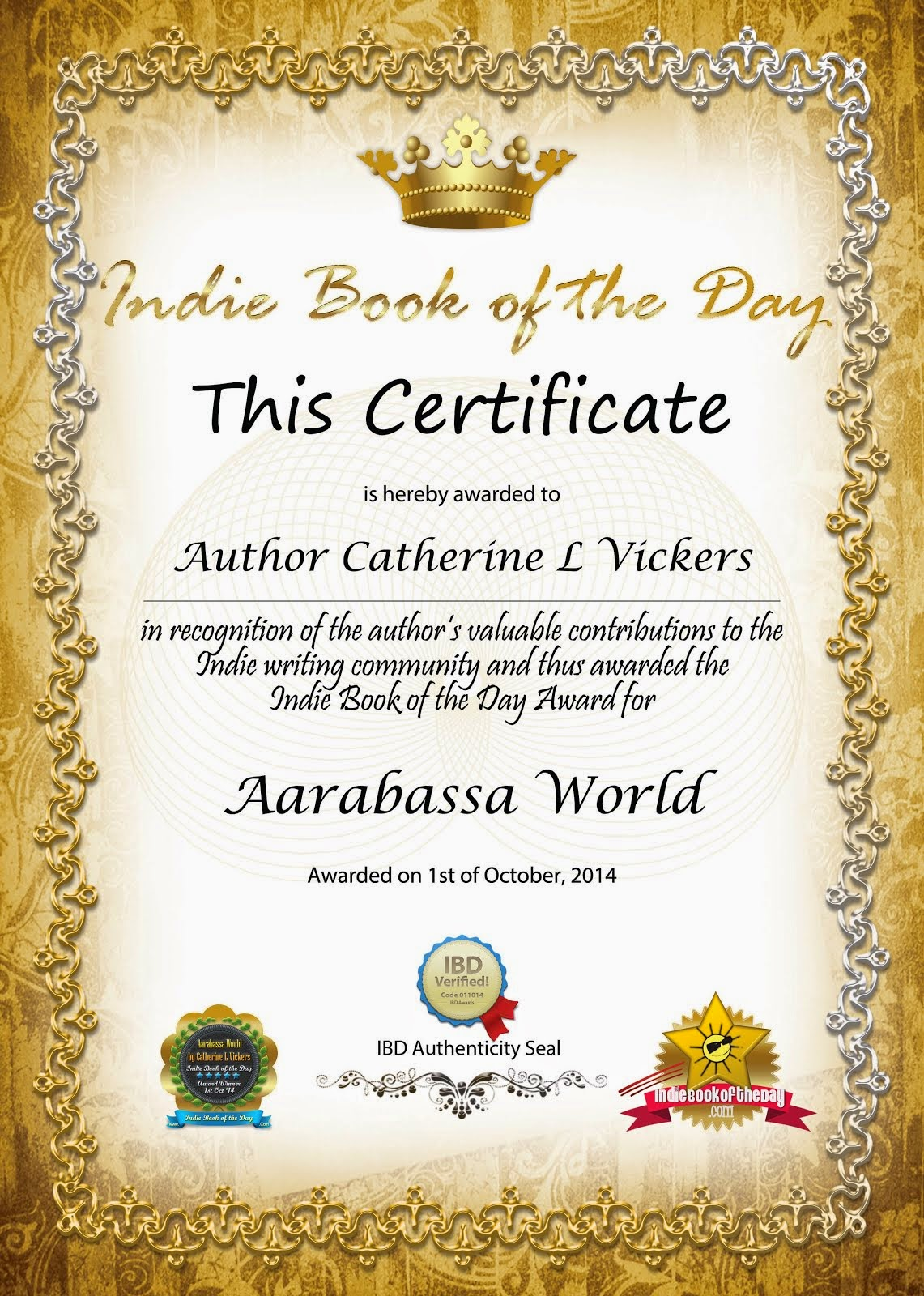 Author Award