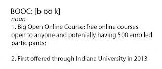 BOOC es un MOOC que aprovecha sus ventajas pero intenta aprovechar más la interacción.