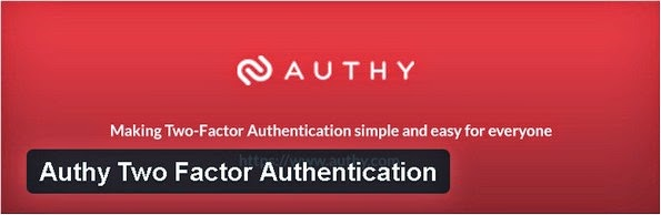 Authy Two Factor Authentication plugin for WordPress